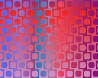 Op Art Displaced Rounded Squares Violet Blue Stock Photos