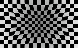 Op Art Expand BN One Royalty Free Stock Images