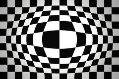 Op Art Expand BN Two Royalty Free Stock Photography