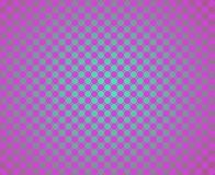 Op Art Facing Each Other Fuchsia Over Radial Blue Royalty Free Stock Photography