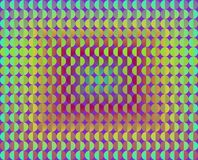 Op Art Facing Each Other Gradient Royalty Free Stock Images