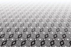 Op art geometric background. Stock Photo