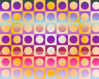 Op Art Go To The Party In Circles By Gradient Royalty Free Stock Images