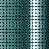 Op Art Gradient Polka Dots Monochrome Gray Blue Royalty Free Stock Photos