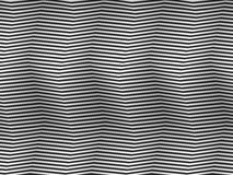 Op Art Homage to BR Black and White Square Stripes Stock Images
