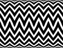 Op Art Homage to BR Vertical Zig Zag Two Royalty Free Stock Images
