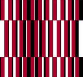 Op Art Homage to GF Vertical Stripes Red One Stock Photos