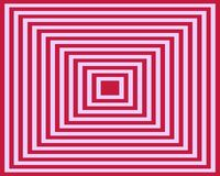 Op Art Homage To The Square Pink Deep Red Royalty Free Stock Photo