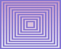Op Art Homage To The Square Violet And Violet Stock Images