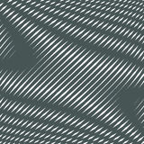 Op art, moire pattern. Relaxing hypnotic background with geometr Royalty Free Stock Photos