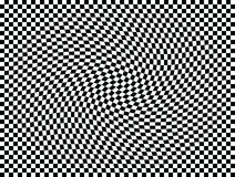 Op Art Moving Squares One vector illustration