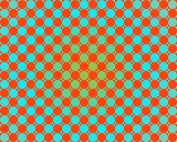 Op Art One Thousand Circles Gradient Light Blue Royalty Free Stock Image