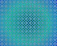 Op Art One Thousand Circles Round Gradients Blue A Stock Photos
