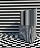 Op Art pattern 3d rendering image Stock Photos