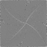 Op Art Pattern Stock Photography
