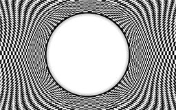 Op Art Pattern Frame Stock Images