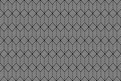Op art pattern. Seamless geometric texture. Stock Photo