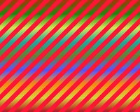 Op Art Red Diagonal Bars Over Gradient Stock Image