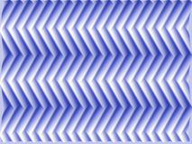 Op Art Scale Fish Blue Royalty Free Stock Photo