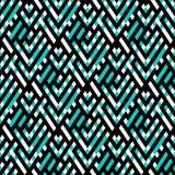 Op art seamless geometric background Stock Photos