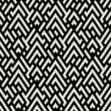 Op art seamless geometric background Royalty Free Stock Images