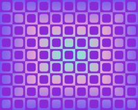 Op Art Squares Rounded Violet Hues Royalty Free Stock Photos