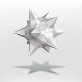 Op art  Star Royalty Free Stock Image