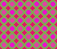 Op Art Superimposing Magenta And Green Losanges Royalty Free Stock Images