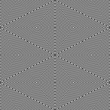 Op Art Only Symmetrical Shapes 06 Seamless Stock Photography