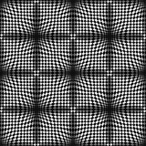 Op Art Vector Seamless Pattern Royalty-vrije Stock Foto's