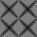 Op Art Vector Seamless Pattern Royalty-vrije Stock Foto's