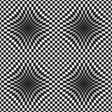 Op Art Vector Seamless Pattern Royalty-vrije Stock Afbeelding