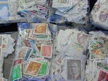 opłata pocztowa s stempluje u Zdjęcia Stock