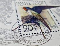 opłata pocztowa s stempluje u Obraz Royalty Free