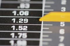 opłaty pocztowej skali Obraz Stock