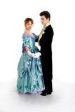 Op de bal Royalty-vrije Stock Foto