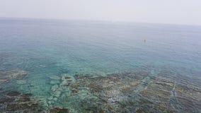 Op de bodem van het overzees vladivostok Rusland stock foto