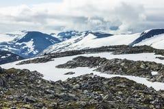 Geiranger, Noorwegen Stock Foto