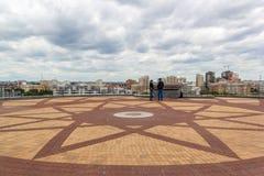 Op de bovenkant van het Kazan familiecentrum Royalty-vrije Stock Afbeelding