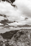 Op de bovenkant van Simien-Berg Nationaal Park in Eth Royalty-vrije Stock Foto's