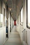 Binnenland van trein Stock Foto