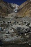 Op de Gletsjer Royalty-vrije Stock Foto