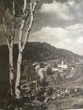 Op de heuvel Stock Foto's