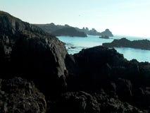 Op de kust royalty-vrije stock afbeeldingen