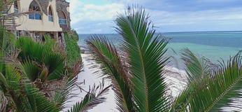 Op de kust stock fotografie