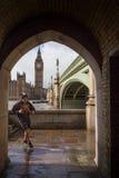 Op de looppas in Londen Stock Fotografie
