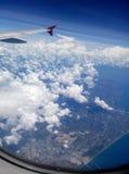 Op in de lucht Royalty-vrije Stock Fotografie
