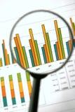 Op de markt brengend rapport Stock Afbeelding