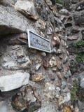 Op de rotsen Royalty-vrije Stock Afbeelding