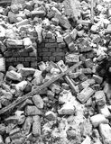 Op de ruïnes Royalty-vrije Stock Fotografie